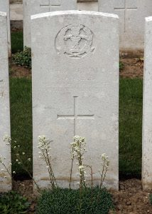 Albert's grave in France II. M. 2 (The War Graves Photographic Project -