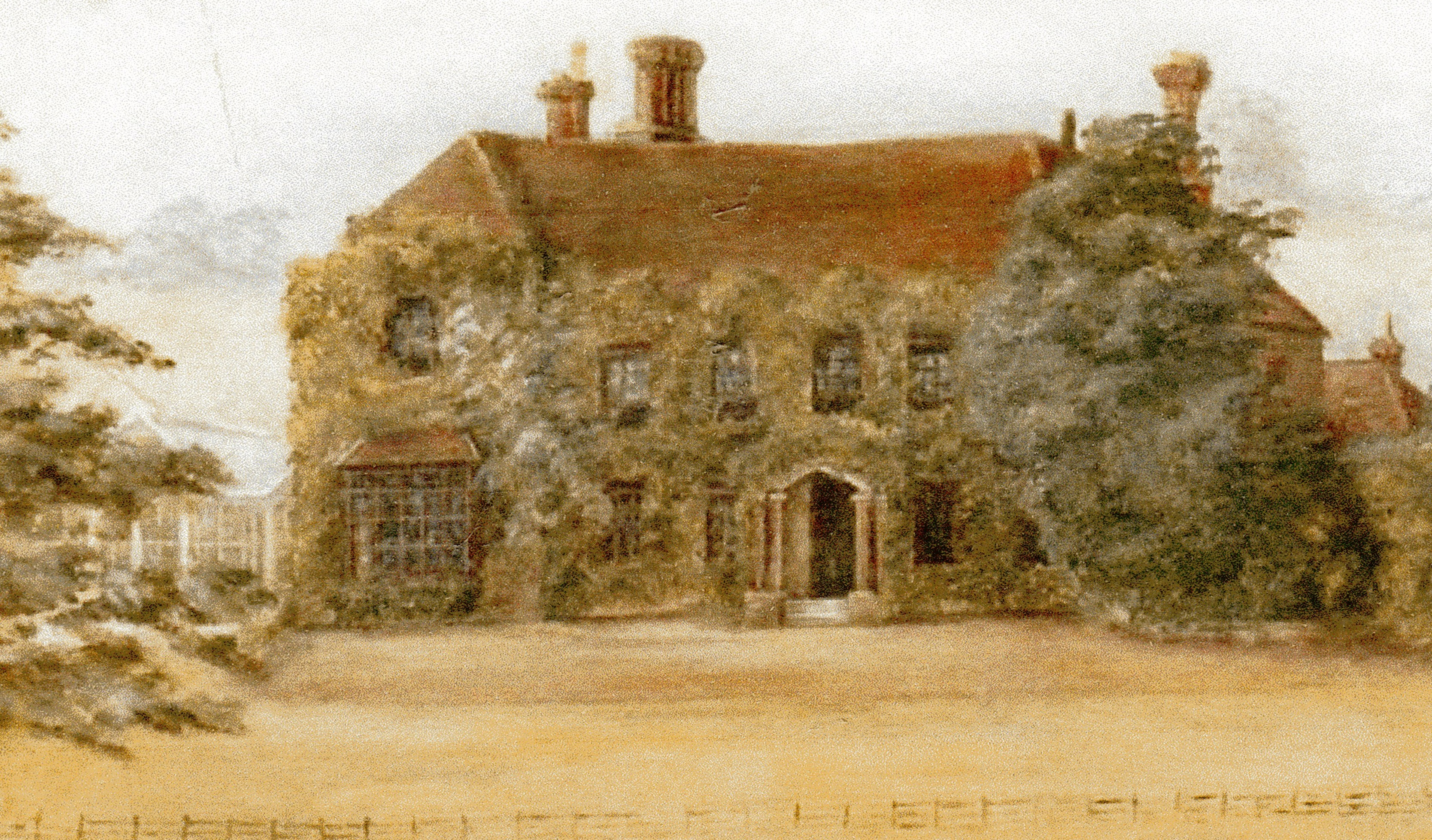 Birtley House painted 1900, credit.....