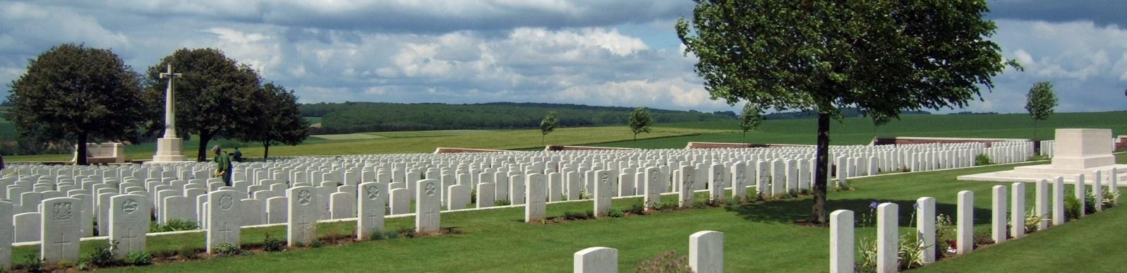 Dantzig Alley British Cemetery, France