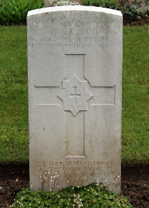 Henry Archibald's grave at Carnoy ( The War Graves Photographic Project - TWGPP)