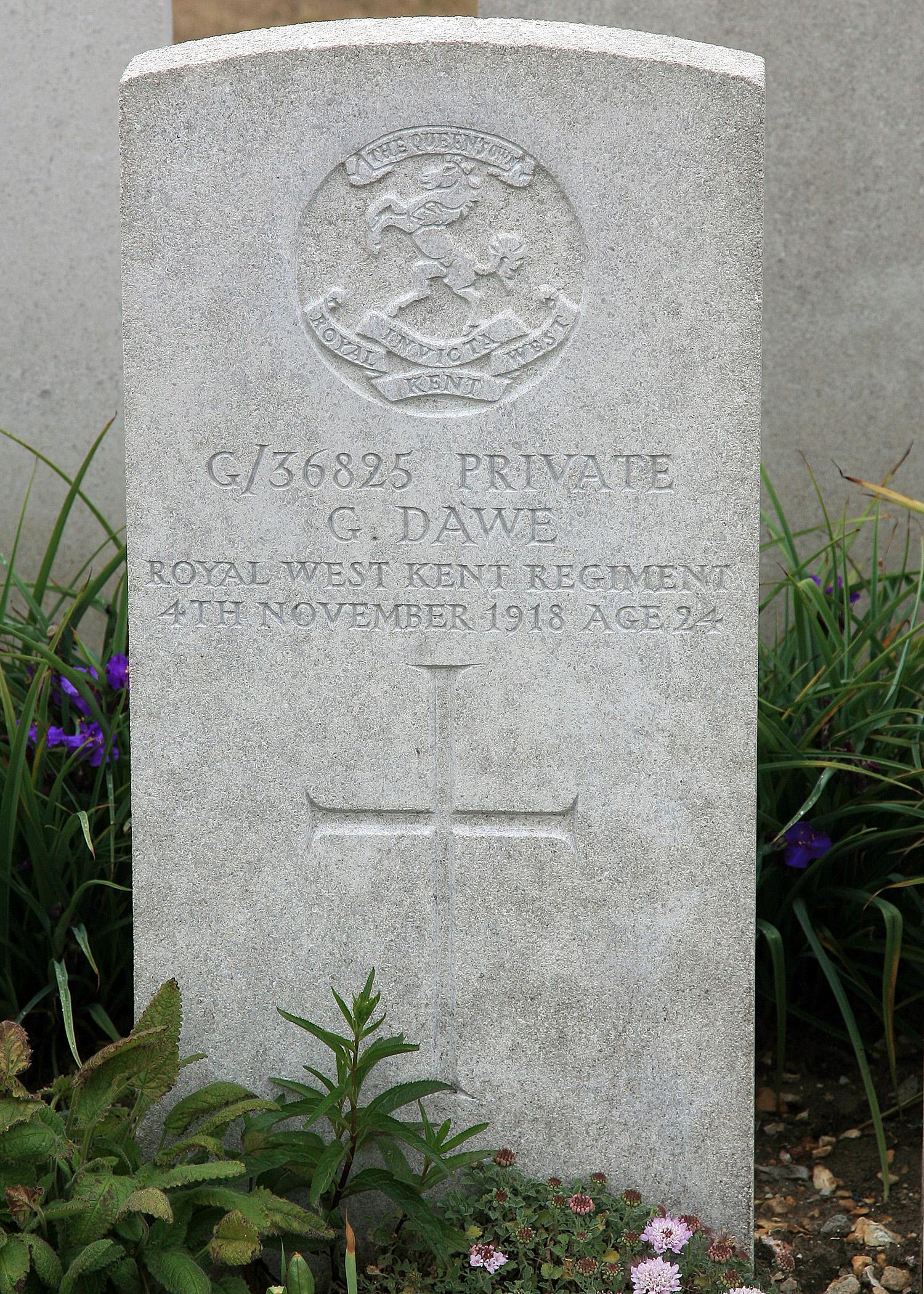 George Dawe ref