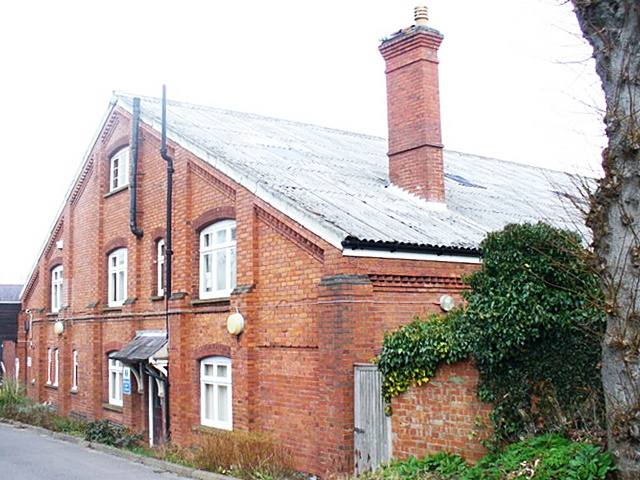 The Drill Hall, Dorking, built 1889 by George Cubitt, later 1st Lord Ashcombe (Geograph, copyright Colin Smith)