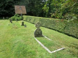 Eliza Caton's grave in Barnabas Churchyard (G 14)