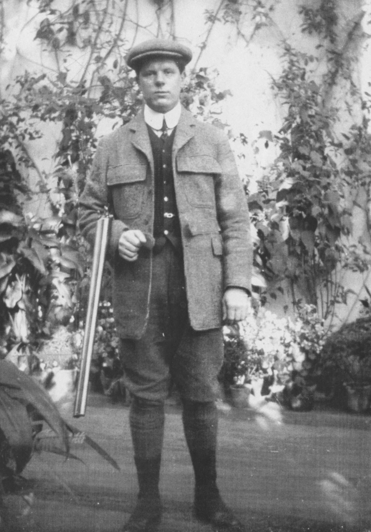 Frederick Buckland. under-gamekeeper, about 1912