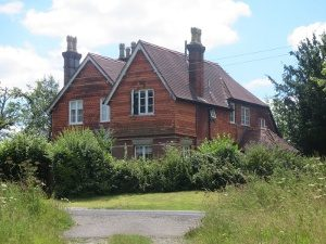 Fox Cottage today, built on the site of the Fox Public House