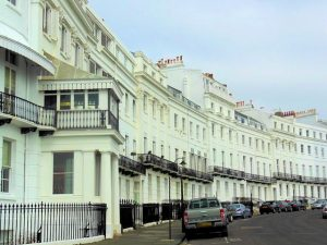 Lewes Crescent, Brighton, part of Thomas Cubitt's development (image courtesy of Linda