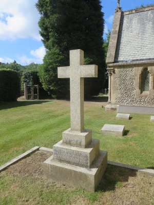 The memorial to Henry and Maud Cubitt at St Barnabas