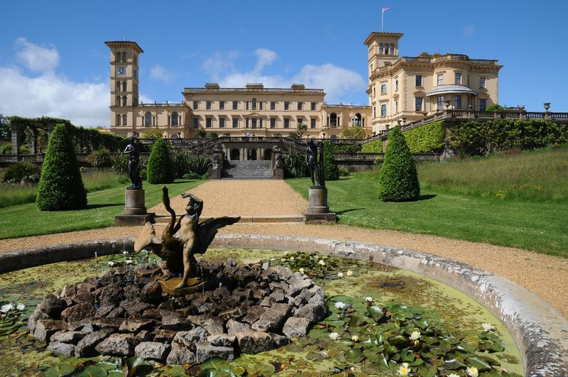Osborne House, Isle of Wight (Geograph, copyright Philip Halling)