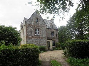 The Old Rectory, Ranmore, now a private house