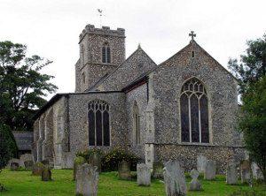 St Andrew's Buxton, where several of the Cubitt children were baptised (Geograph, copyright John Salmon)