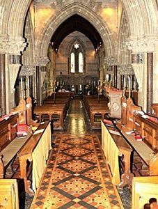 The interior of St Barnabas, looking back from the High Altar (Brian Belton)