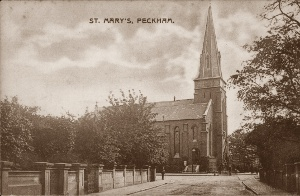 St Mary Magdalen, Peckham,demolished after being bombed during WW2