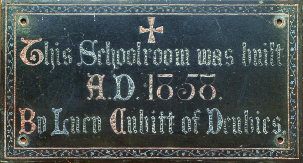 Barnabas Schoolroom (courtesy of Alison Newton, Ranmore