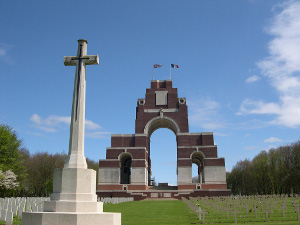Thiepval Memorial and cemetery, France (Commonwealth War Graves Commission)