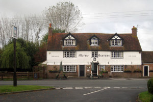 "The ""Merrie Harriers Inn"" today (Geograph, copyright Oast House Archive)"