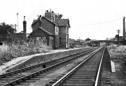 Merton Abbey station in 1967, Alan Jackson