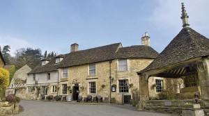 The Castle Inn, Castle Combe, Wiltshire, photograph by courtesy