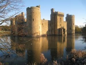 Bodiam Castle, Kent, Geograph, courtesy Oast House Archive