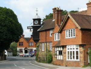 Abinger Hammer Clock House today, photograph courtesy Geograph, Peter