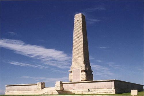 The Helles Memorial, photo by the Commonwealth War