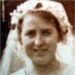 Kate Barnes on her wedding day, photographcourtesy of Nigel