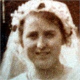 Kate Barnes on her wedding day, photographcourtesy of Nigel