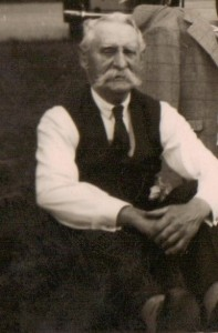 Philip Frederick Bradley in his early 70s. Photo courtesty Pauline