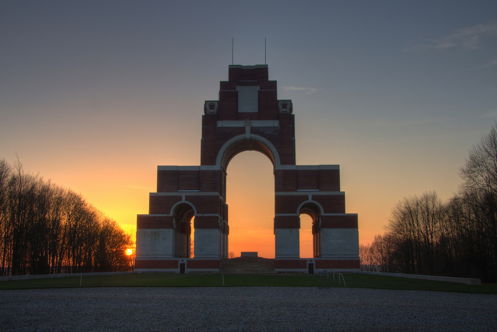 The Thiepval Memorial to the Missing of the Somme