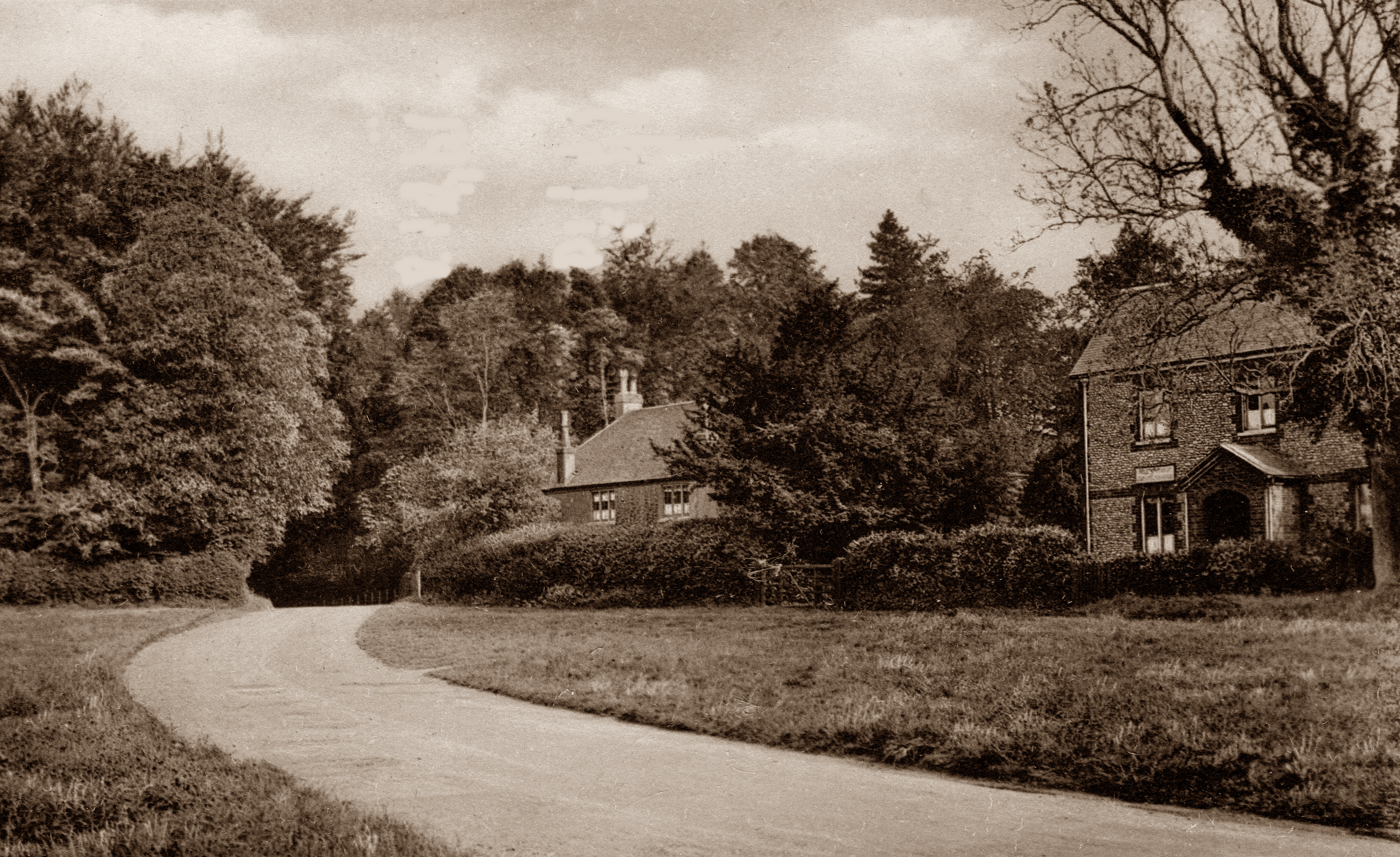 West Cottage in 1922 (Friths, from the postcard collection of Alison Newton)