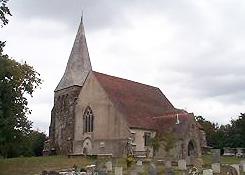 All Saints, Herstmontceaux, credit (village website)