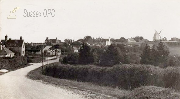 Bodle Street in 1936, showing the famous Windmill. (to get pic