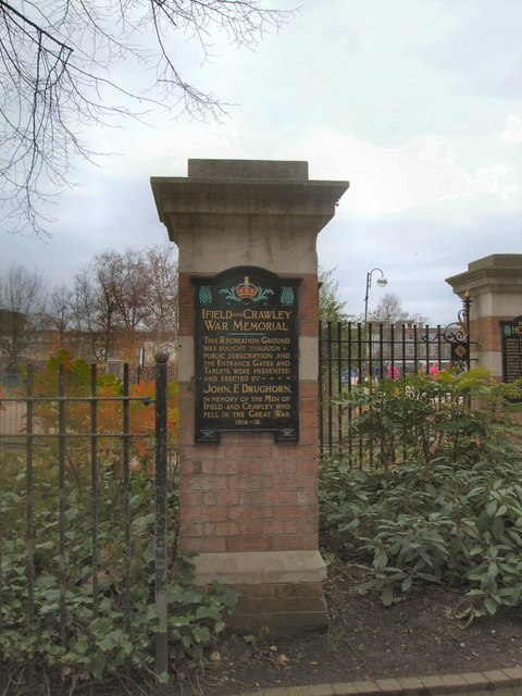 Memorial Gates, Geograph Paul Gillett - will try to get pic with Nat's name on