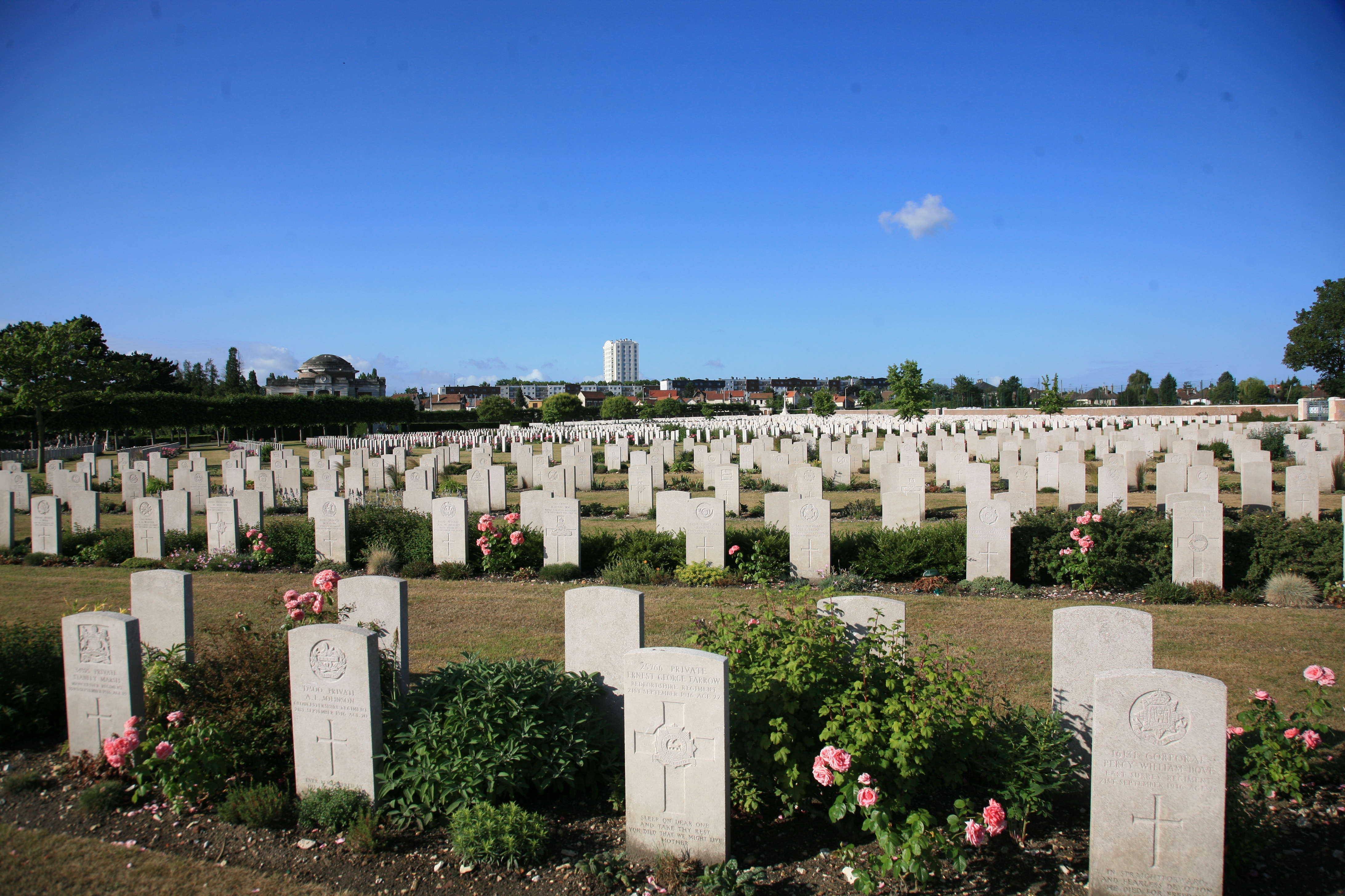 St Sever Extension Cemetery, Rouen, The Great War Photographic Project