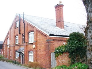The Drill Hall, Dorking, built 1889 by George Cubitt, later 1st Lord Ashcombe. photo courtesy of