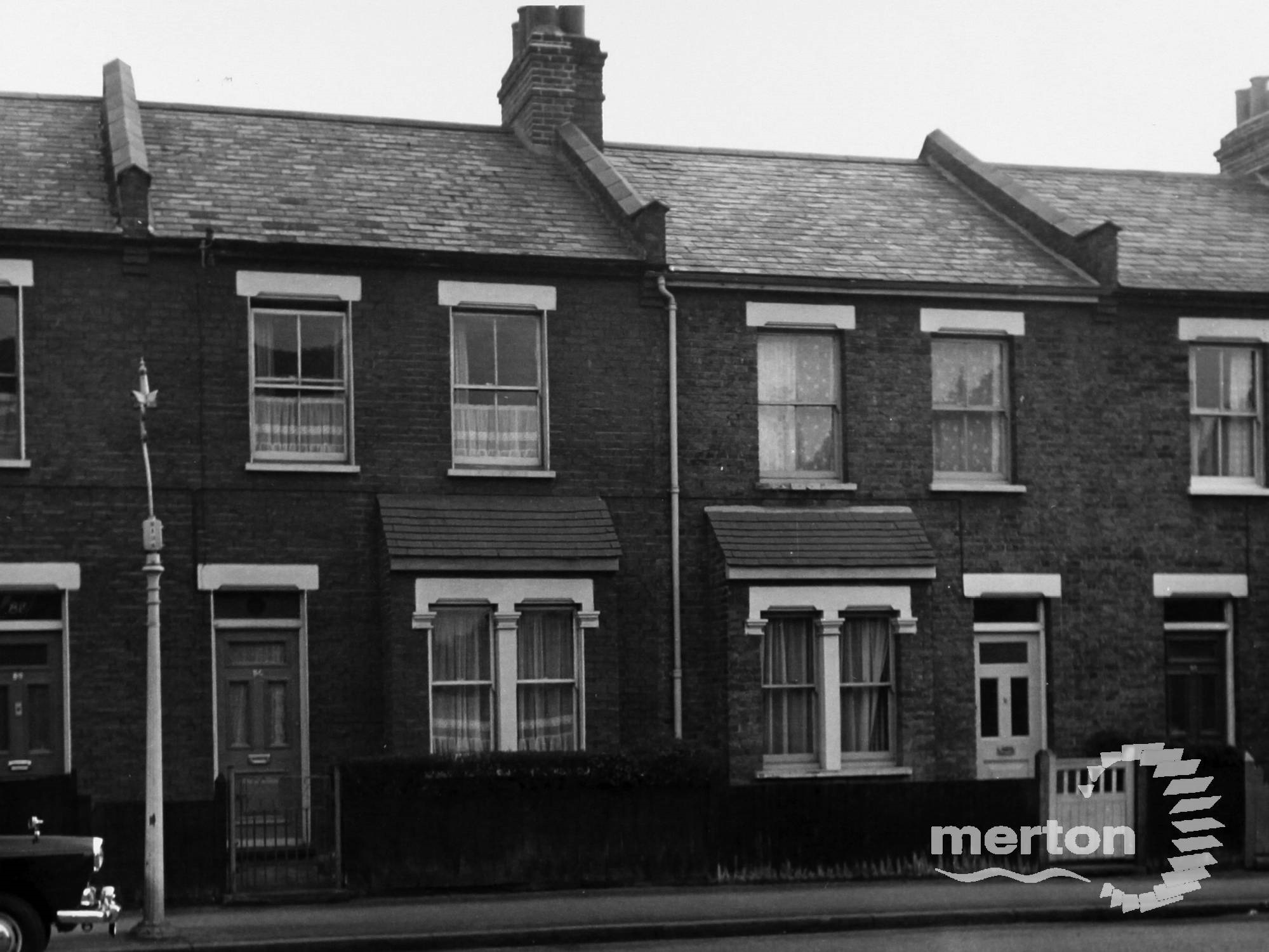 elson Grove Road in .., copyright Merton Libraries (NB will get print without their