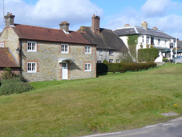 ld Cottages in Slaugham between the church and the inn, Geograph, Colin