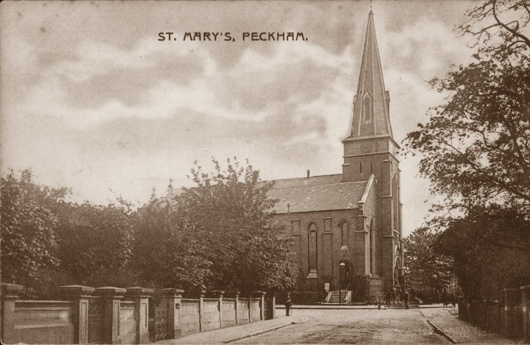 St Mary Magdalen, Peckham,demolished after bombing during
