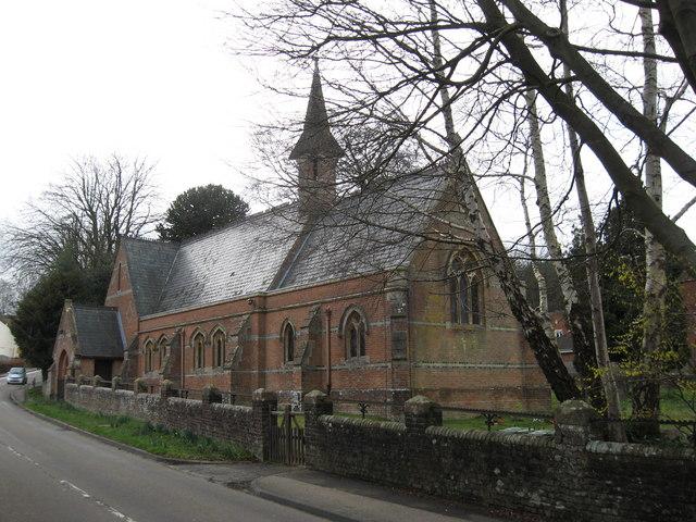 St Saviour's Church, Colgate, photograph Geograph, Richard Rogerson (check