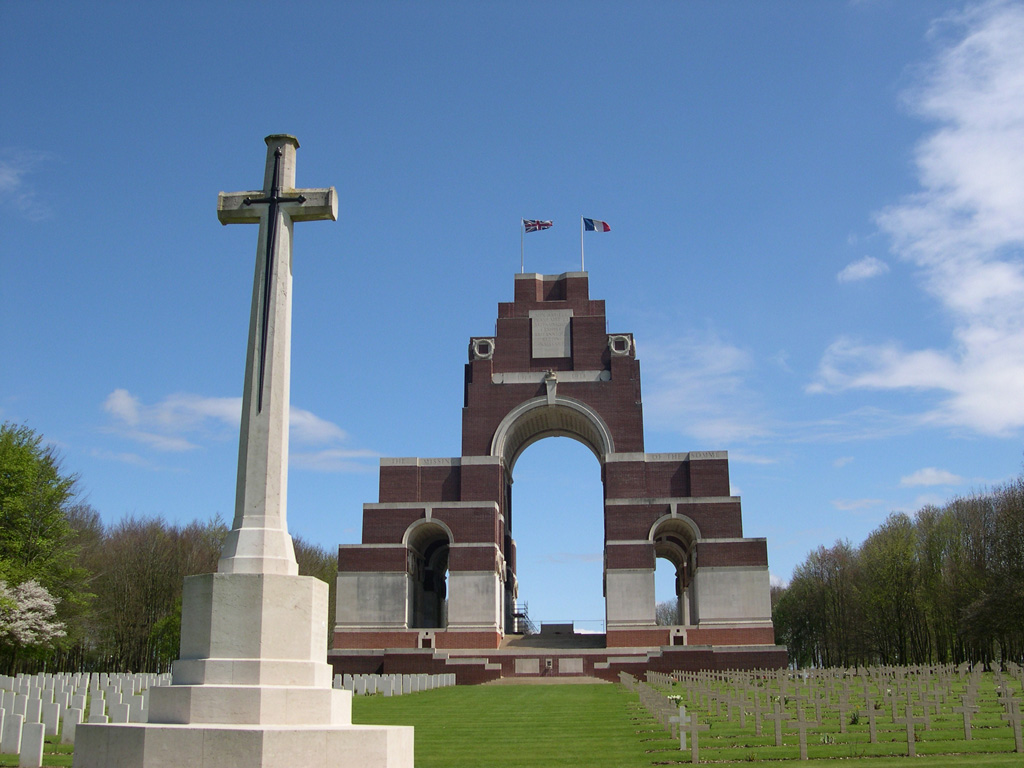 Thiepval Monument and cemetery, France, Commonwealth War