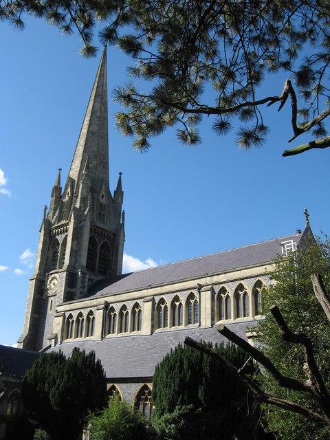 St Martin's Church, Dorking, Geograph, Richard Rogerson - word credit...