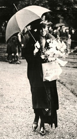 Lady Ashcombe at a charity event (Dorking Museum). There is another snapshot of her on the Denbies Estate page – for such a prominent person, it is surprising that there seem to be no studio portraits.
