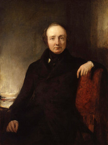 Lewis Cubitt by Sir William Boxall, ? credit