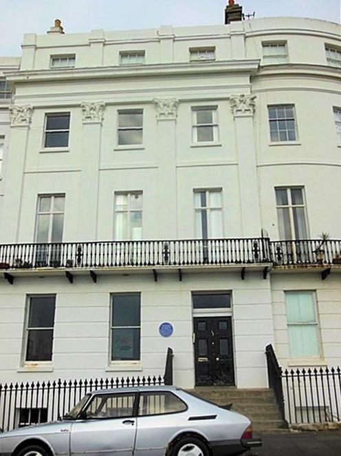 No 13 Lewes Crescent, Brighton, home of Thomas Cubitt (?