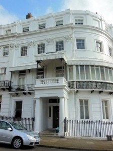 Charles Cubitt's house 16 Lewes Crescent, Brighton (Linda Jackson)