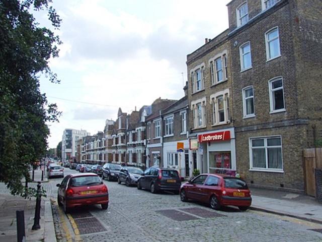 Cubitt Town today (Manchester Road), Geograph Chris Whippet
