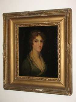 his picture of Mary Anne Cubitt came from Sudeley Castle, when it was the property of Mary Anne's great great grandson, Henry, 4th Lord Ashcombe. It was identified as a result of deduction by Mark Cortino of Illinois, USA, who now owns it and by whose kind permission it is reproduced here (Find a Grave)