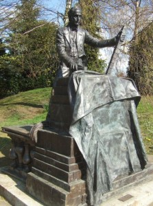 Statue of Thomas Cubitt in Dorking, Geograph, Martyn