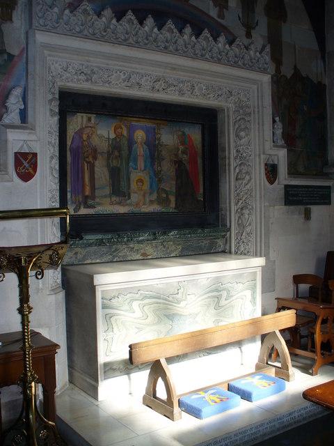 The Cubitt Chapel through the parclose screen, Geograph,