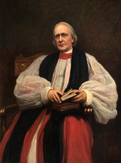 Archbishop Benson (c) Lambeth Palace; Supplied by The Public Catalogue Foundation (recheck - if not see Nat Gallery for other