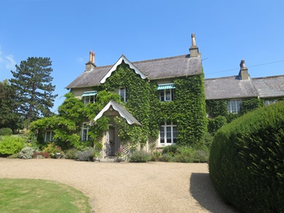 The home of Sir Hugh and Lady Cubitt